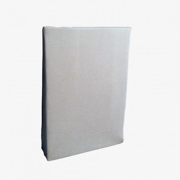 Spannbettlaken: Miami, 100/200 cm, grau