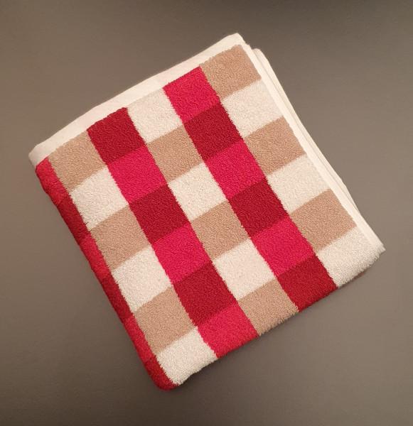 Handtuch: Milano/Kira, 50/100 cm, rot