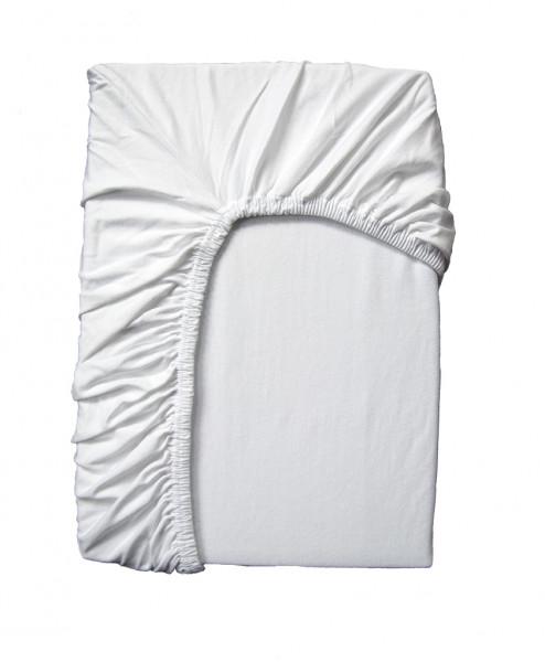 HIGH-CLASS Spannbettlaken Set für Flair und Arto, weiß