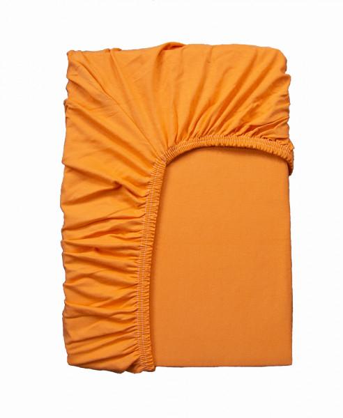 Spannbettlaken: Miami, 200/200 cm, orange