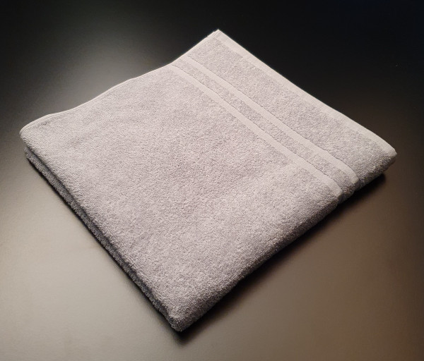 Handtuch: Riva/Nina, 50/100 cm, grau