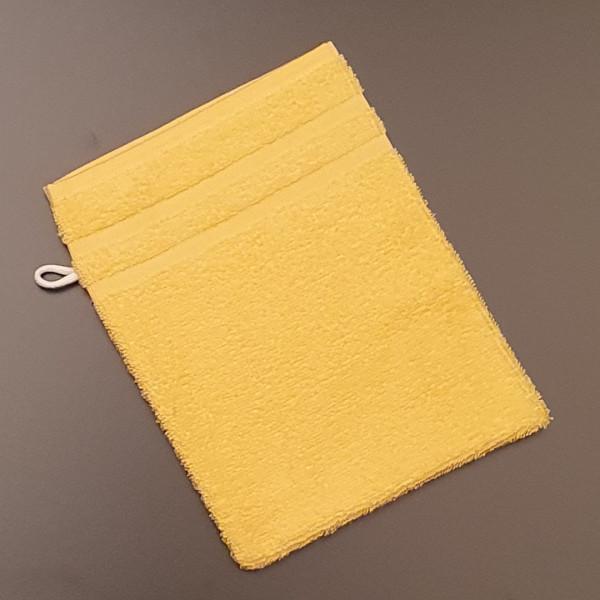 Waschhandschuh: Riva/Nina, 16/23 cm, gelb
