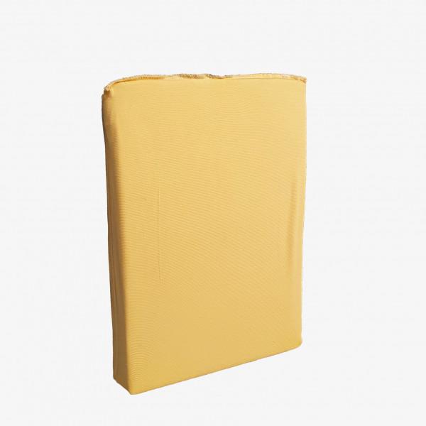 Spannbettlaken: Miami, 200/200 cm, gelb