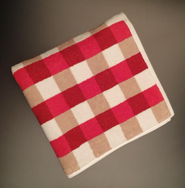 Liegetuch: Milano/Kira, 70/200 cm, rot