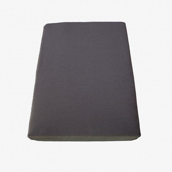 Spannbettlaken: Miami, 100/200 cm, graphit
